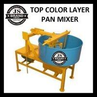Top Color Layer Pan Mixer
