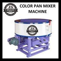 Color Pan Mixer Machine