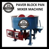 Paver Block Pan Mixer Machine