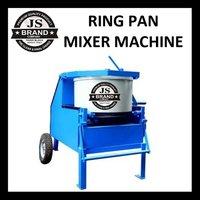 Ring Pan Mixer Machine