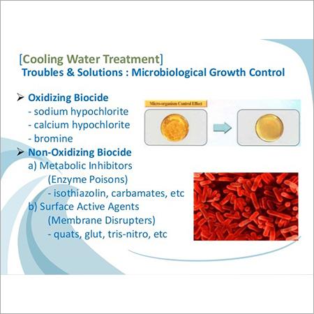 oxiding and non oxidisning biocide