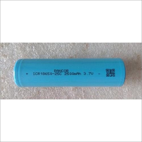 ICR18650-25C 2500mAh 3.7V Lithium Ion Cell