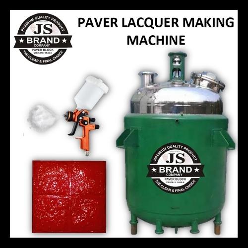 Paver Lacquer Making Machine