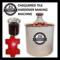 Chequered Tile Hardener Making Machine