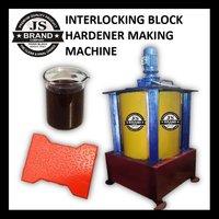 INTERLOCKING BLOCK HARDENER MAKING MACHINE