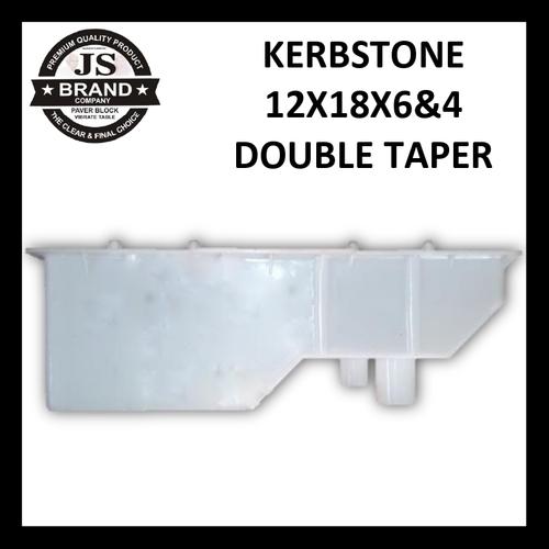 Kerbstone 12X18X6&4 Double Taper Life Span: 1.6 Years