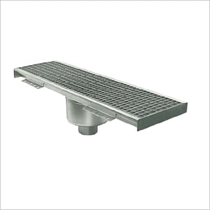 Floor Grating Trench Tank Vertical Drain Out