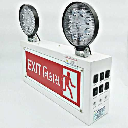 EMERGENCY EXIT LIGHT ENGLISH & GUJARATI