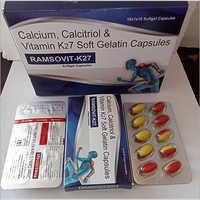 Calcium, Calcitriol & Vitamin K27 Soft Gelatin Capsules