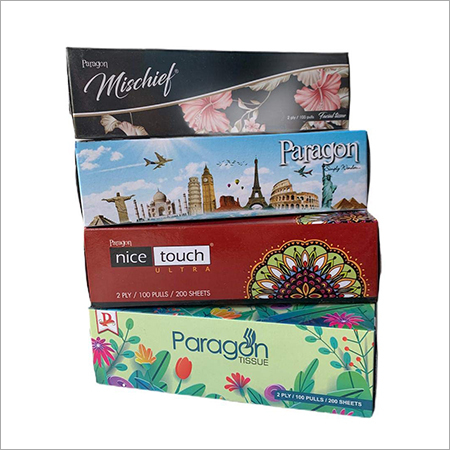 Paragon Products Face Tissue Box