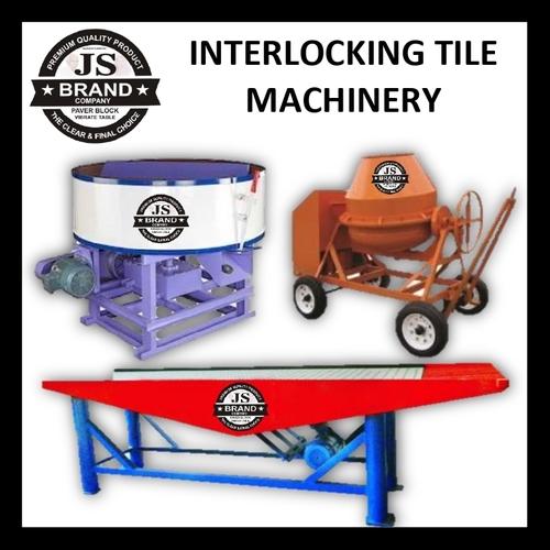 Interlocking Tile Machinery Capacity: 3000.Pcs / Day Pcs/Min