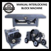 Manual Interlocking Block Machine