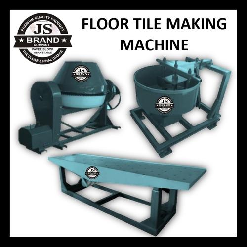 Floor Tile Making Machine