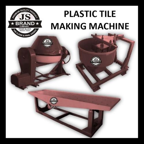 Plastic Tile Making Machine