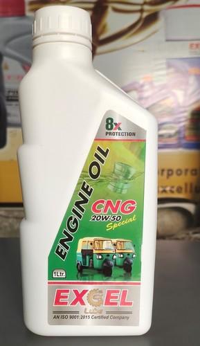 Excel 20W50 CNG Oil Passenger Auto car