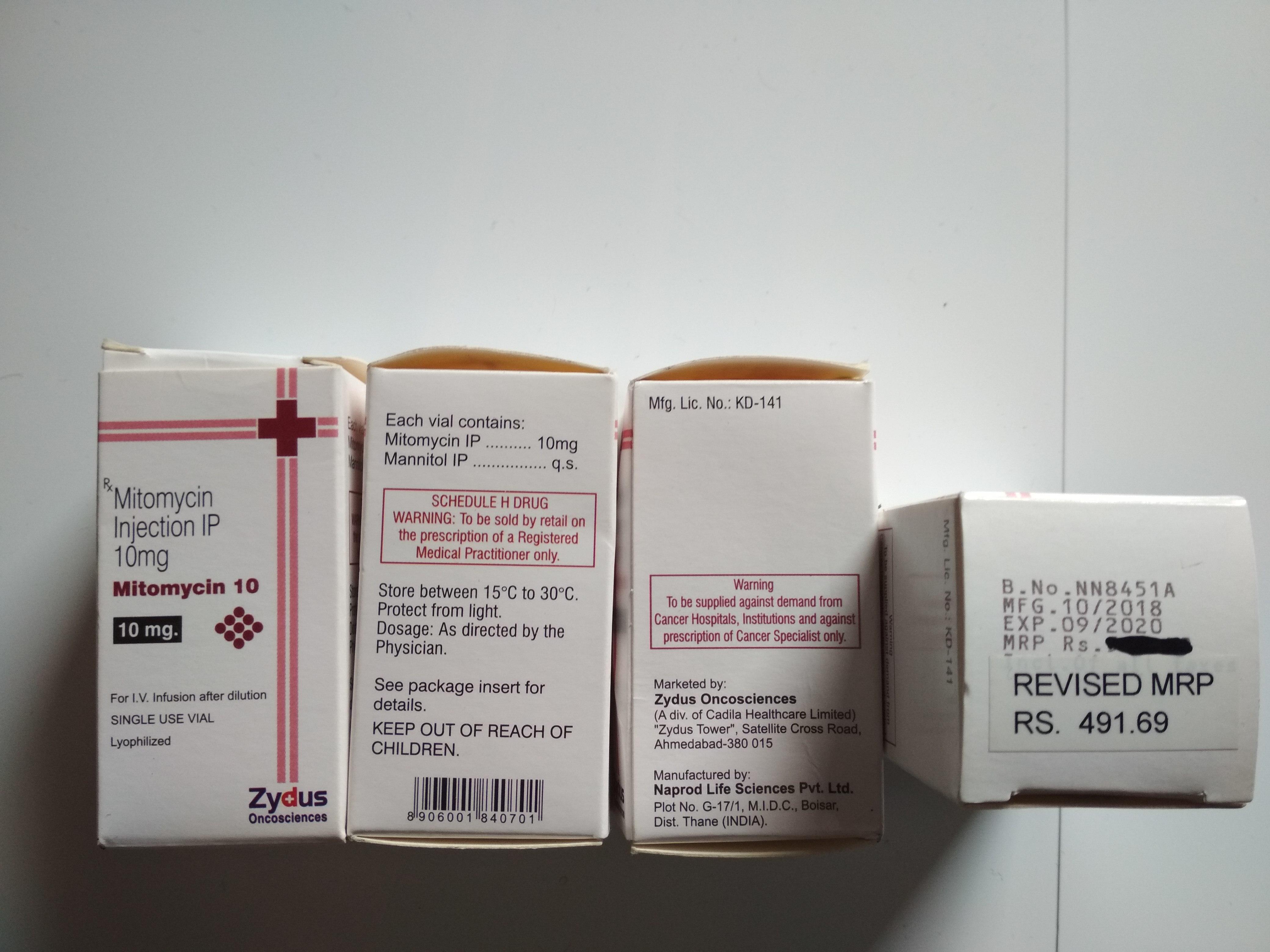 Mitomycin 10 Mg Injection