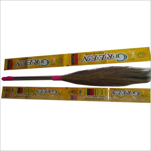 Steel Handle Grass Brooms