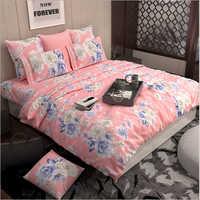 Flower Print Bed Sheet