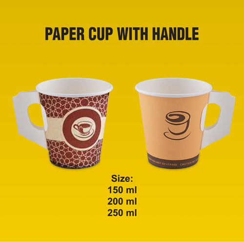 Paper Cups with Handle