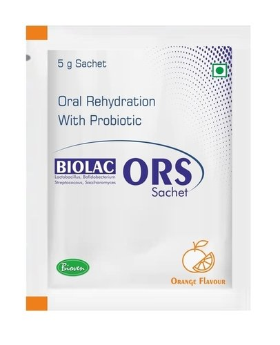 Probiotic Ors With Zinc Sachets Certifications: Iso