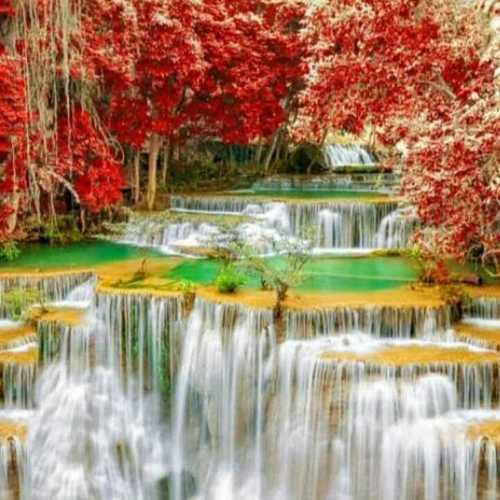 Waterfall Customize Wallpaper