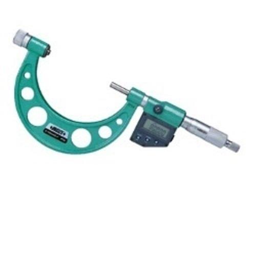 INSIZE 3506-100A Interchangeable Anvils Digital Outside Micrometer
