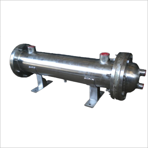 SS Water Cooled Oil Heater