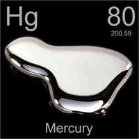 Pure Mercury Metal