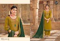 Manjari Vol-3 Parampara Silk Salwar Suits Catalogue