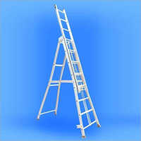 Industrial Aluminium Self Supporting Extension Ladder