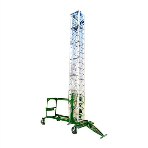 Tiltable Telescopic Aluminum Tower Ladder