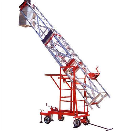 Tiltable Telescopic Tower Ladder