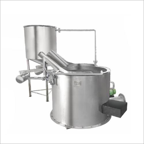 Circular Fryer With In Built Heamixer Macht Exchanger (Tilting System)
