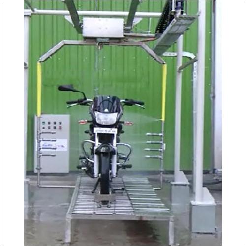 Two Wheeler Washing System