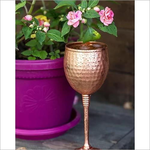 Copper Wine Glass