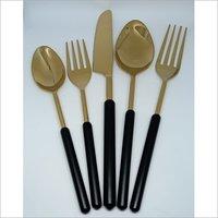 Brass Dining Spoon Set