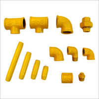 POWDER COATED PIPE FITTINGS FOR GAS APPLICATIONS - As per IS 1879-1987 standard
