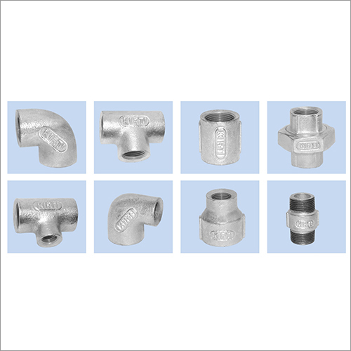 KIRTI EXTRA HEAVY NON ISI PIPE FITTINGS (BOX PACKING) - As per IS 1879 standard