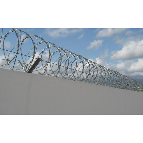 Mild Steel Double Blade Razor Concertina Wire