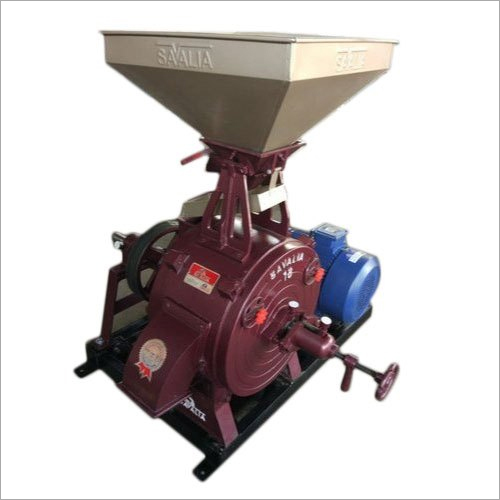18 Inch Commercial Flour Mill Machine Trolley With Motor Machine