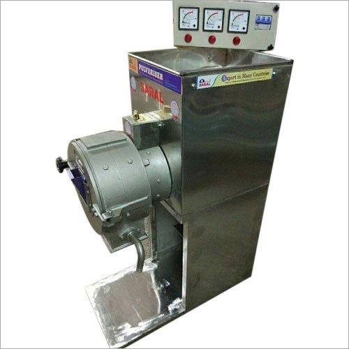 Full SS 5 HP Double Chamber Pulverizer Machine