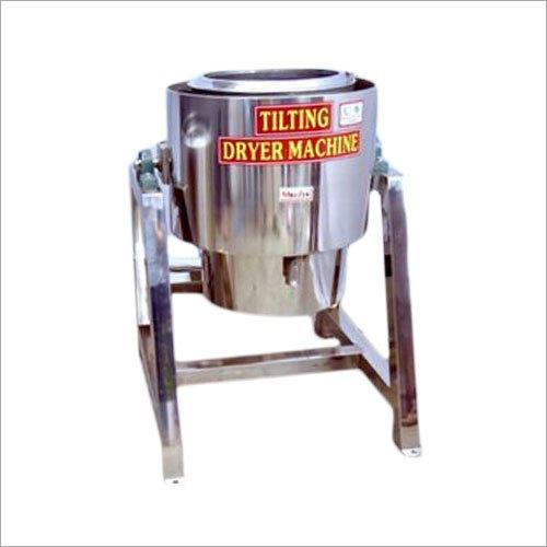 Tilting Oil Dryer Machine