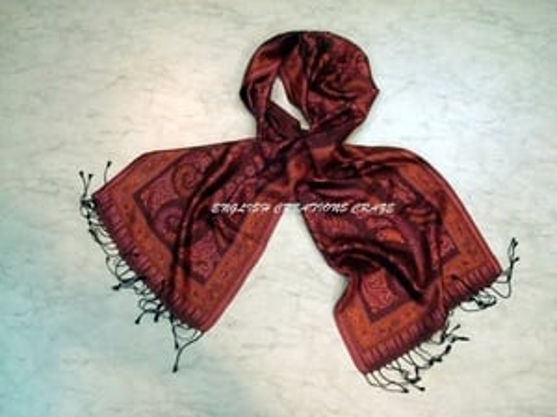 Silk Jacquard Shawls  Manufacturers