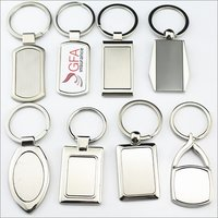 Metal Plain Keychain
