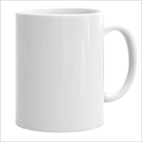 White Sublimation Plain Mug