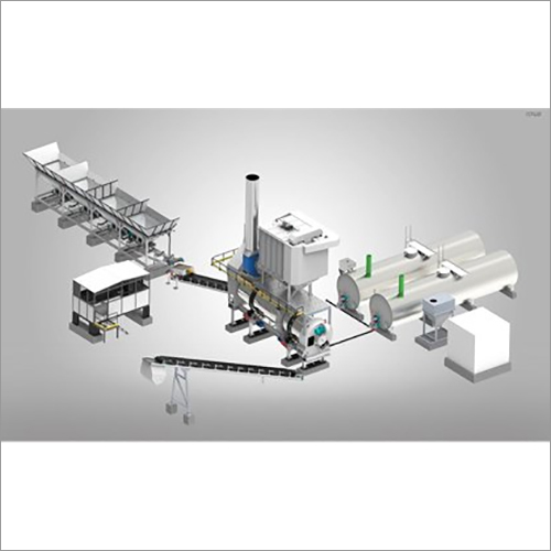 CFD-90 Nilang Counter Flow Drum Mix Plant