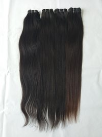 Natural Straight Hair Extensions, Tangle And Shedding Free