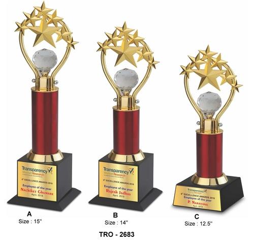 Gold 7 Star Trophy