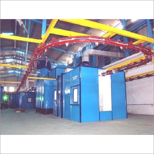 Conveyorised Liquid Coating Plant