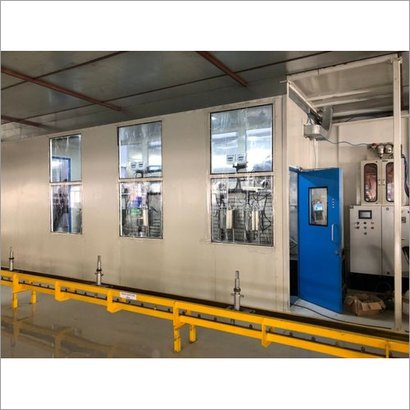 Pressurized Painting Booth